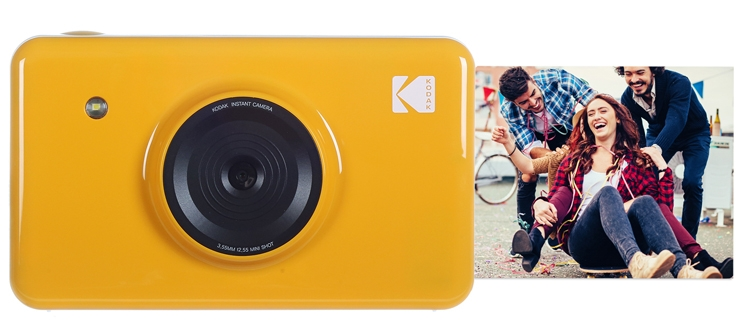 Kodak Mini Shot: камера моментальной печати с дисплеем и Bluetooth»