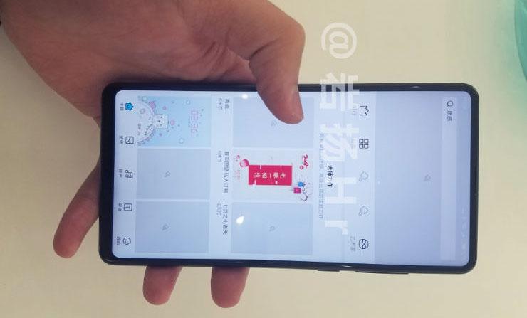 В Сети появились первые живые фото Xiaomi Mi Mix 2s»