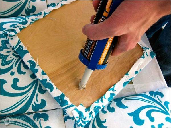 Как сделать мягкую стену своими руками - особенности и монтаж