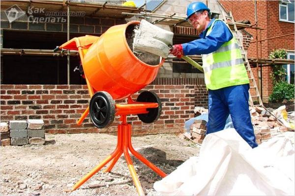 Как выбрать бетономешалку - советы по выбору бетоносмесителей