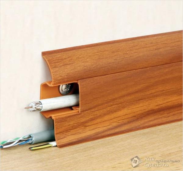 Как подобрать плинтуса к ламинату - подбор плинтуса