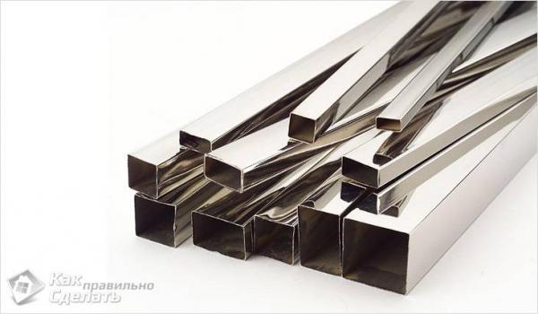 Как сделать забор из профильной трубы - строительство металлического забора