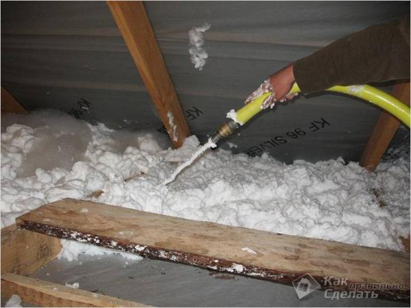 Как правильно утеплить потолок бани своими руками - обустройство