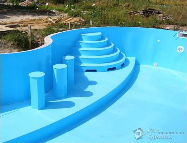 Как сделать бассейн своими руками (+фото)