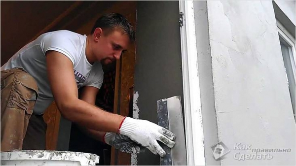 Как штукатурить откосы на окнах - штукатурные оконные откосы