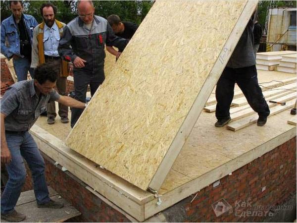 Дом из сип панелей своими руками