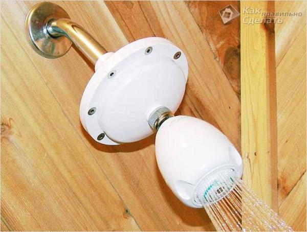 Как сделать душ на даче своими руками - дачный душ