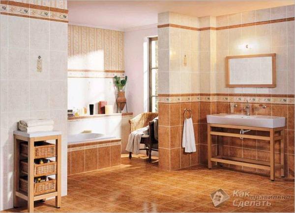 Как сделать пол в ванной своими руками - ремонт и отделка пола в ванной