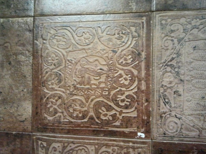 Элитная керамическая плитка в интерьере дома