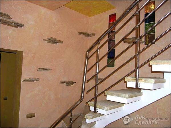 Как сделать лестницу на второй этаж своими руками - из дерева, металла, бетона (+фото)
