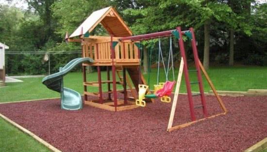 Выбираем место под детскую площадку - рекомендации
