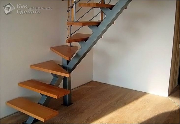 Как сделать лестницу на чердак своими руками