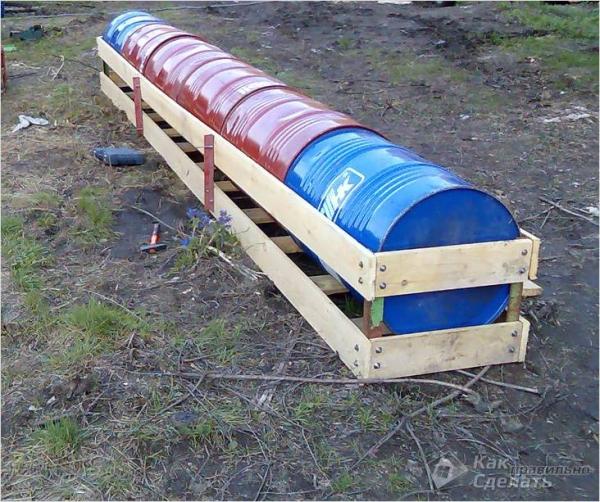 Как построить дом на воде - строительство дебаркадера