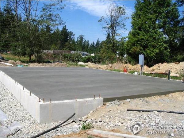 Как построить гараж своими руками - строим гараж