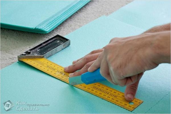 Как выбрать подложку под ламинат для квартиры - какой толщины
