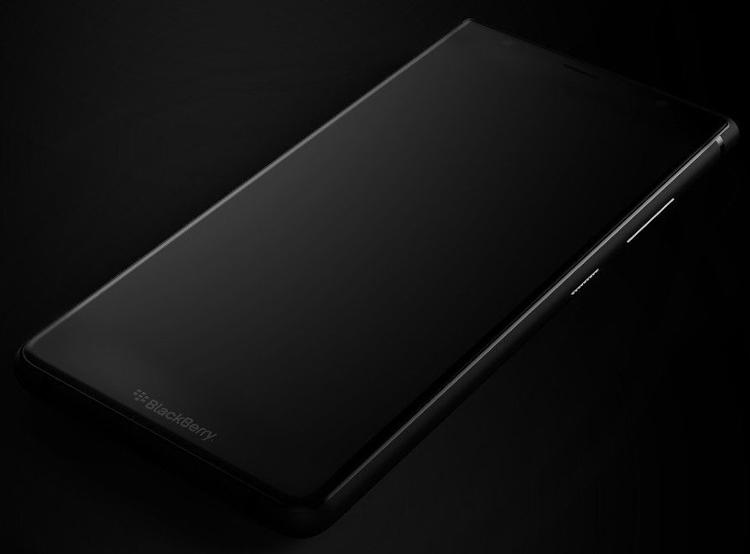 Анонс бесклавиатурного смартфона BlackBerry Ghost ожидается летом»