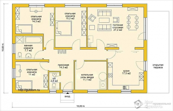 Дом из сибита своими руками - строительство домов из пенобетона + фото, чертежи