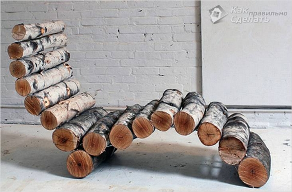 Как сделать шезлонг своими руками из дерева +чертежи, фото, видео