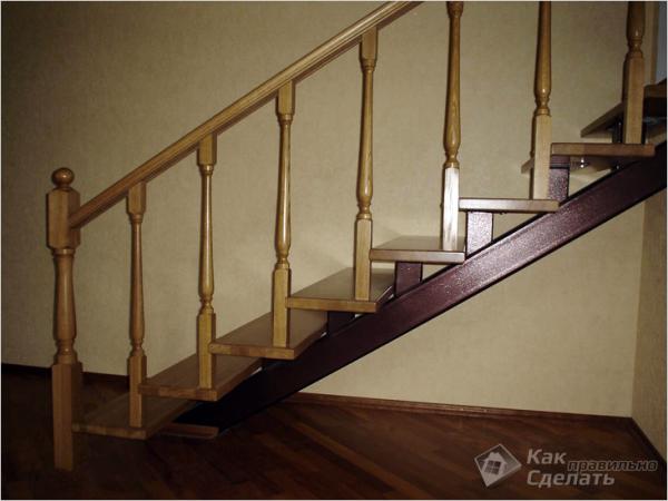 Лестница из профильной трубы своими руками - изготовление лестницы из металлического профиля (+фото)