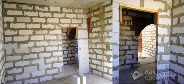 Дом из газобетона своими руками +фото