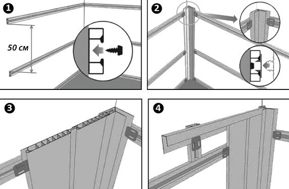 Обшивка балкона пластиковыми панелями – пошаговая инструкция, преимущества