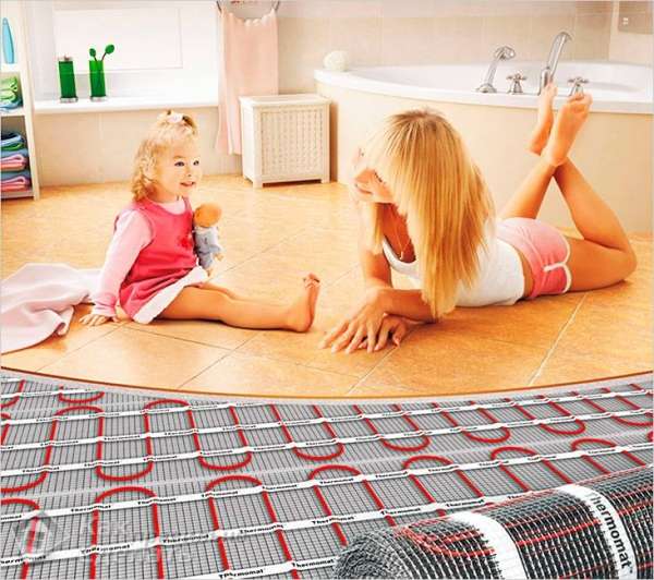 Как выбрать электрический теплый пол под ламинат, под плитку - какой лучше