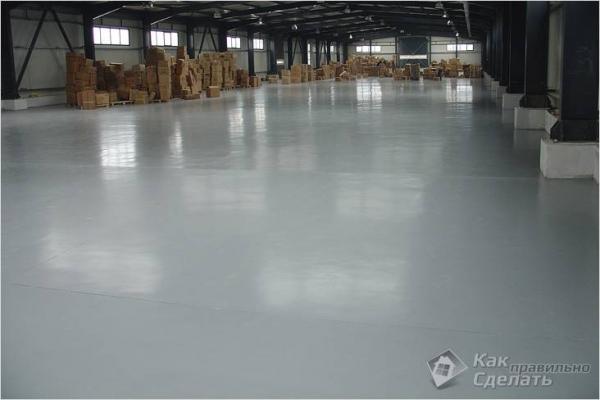 Как правильно сделать бетонный пол - пол из бетона