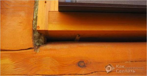 Как утеплить бревенчатый дом - утепление дома из сруба