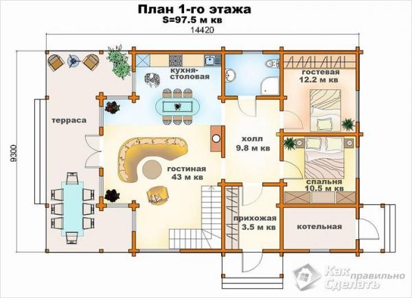 Как сделать проект дома своими руками - составление проекта дома