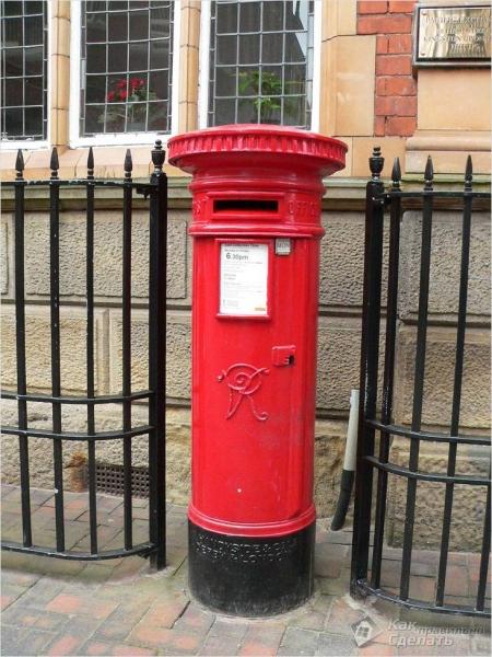 Как сделать почтовый ящик своими руками - из чего и как