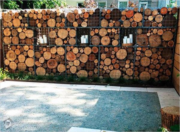 Забор из габионов своими руками - особенности и монтаж