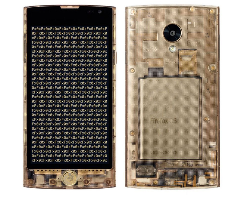 LG Fx0: необычный смартфон в прозрачном корпусе на базе Firefox OS»