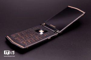 Смартфон-раскладушка Gionee W919 показал лицо»