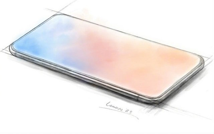Lenovo Z5 станет «по-настоящему безрамочным» смартфоном»