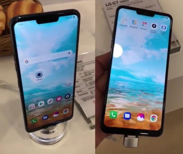 LG привезла смартфон G7 (NEO) на MWC 2018, но тот ли это прототип?»