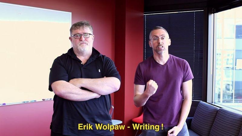 Сценарист Portal Эрик Уолпоу покинул Valve»